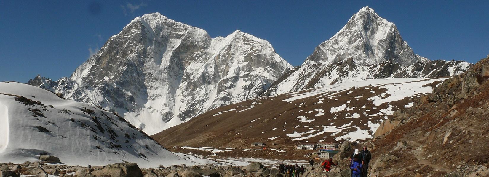 Lobuche Peak, Everest Base Camp Trek via Gokyo Cho La Pass